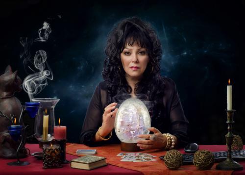 魔法のランプ 占い師
