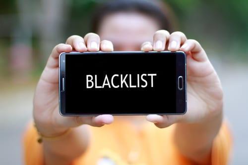 電話占い ブラックリスト